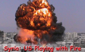 Syria US Fire
