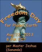 Freedom Day 8-22-13
