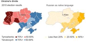 Ukraine 2010 map