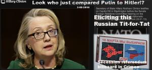Hillary Crimea Swastika