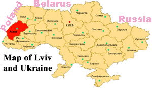 lviv-ukraine-map