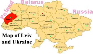lviv-ukraine-map