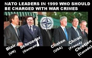NATO leaders 1999