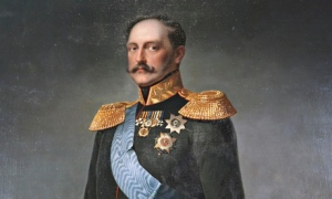 'Portrait of Emperor Nicholas I', mid 19th century.