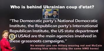 Who is behind Ukraine crisis