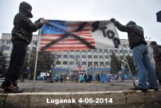 Lugansk protests 4-10-14