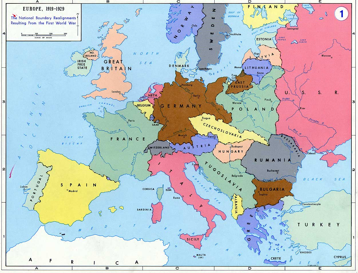 60 Europe In World War 1 Map. Map. Get Free Image About World Maps