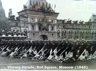 Moscow victory parade 1945