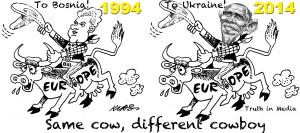 Clinton Obama Europe