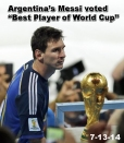 Messi Best Player World Cup