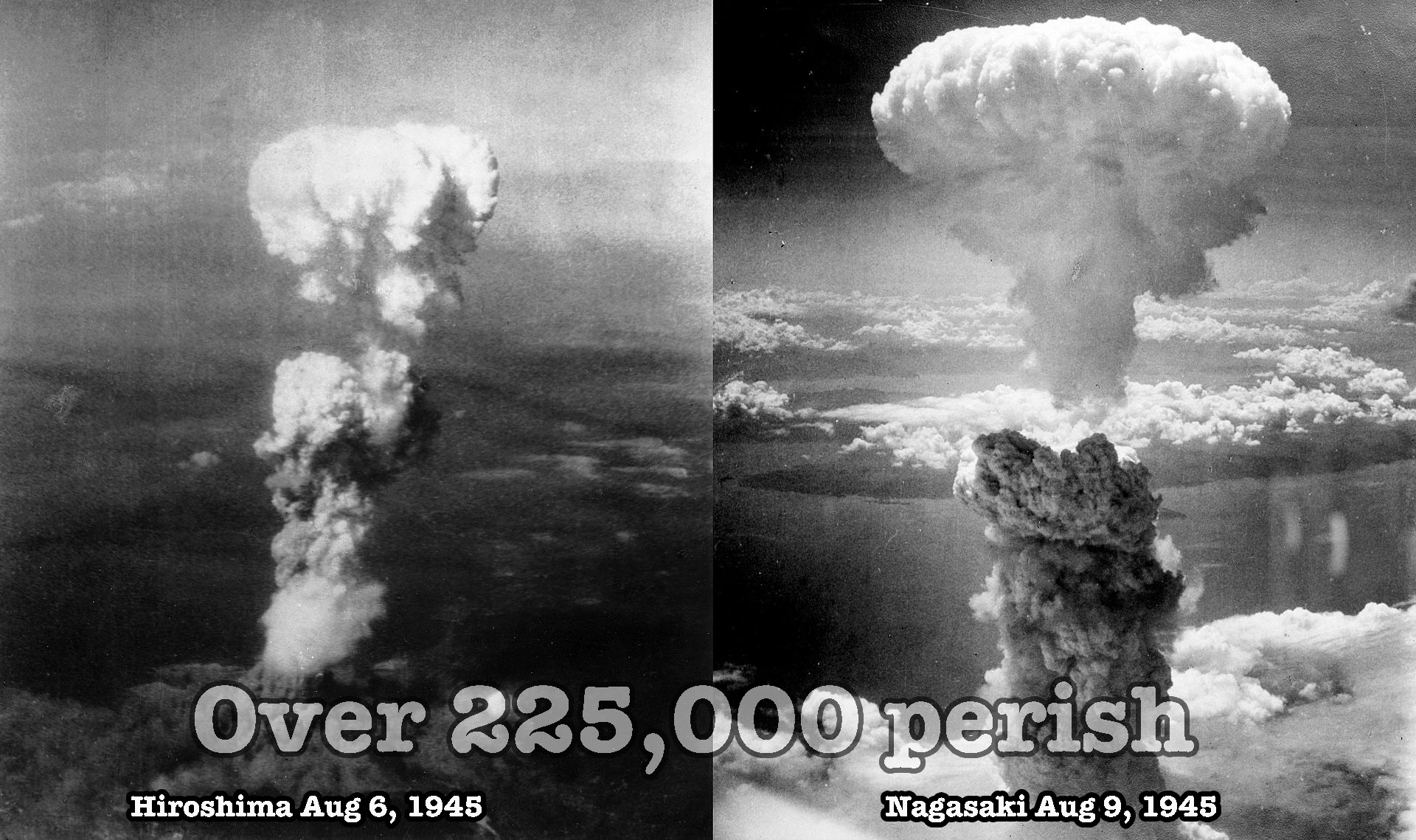 WHY WE SHOULD CARE TODAY ABOUT HIROSHIMA AND NAGASAKI
