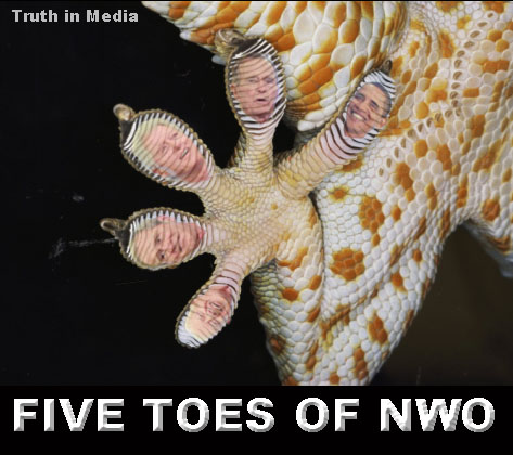 Five toes of NWO