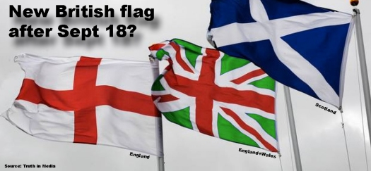 New UK flag