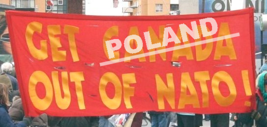 Poland out of NATO