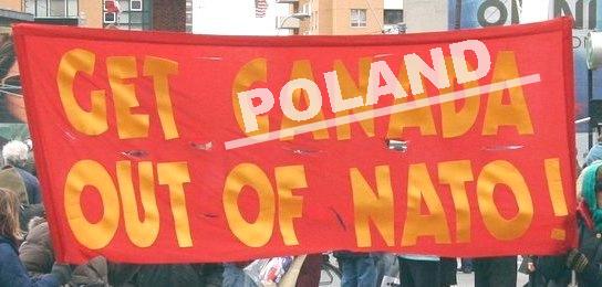 Poland out of NATO