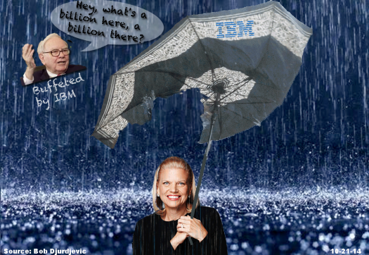 Ginni Buffet IBM Umbrella