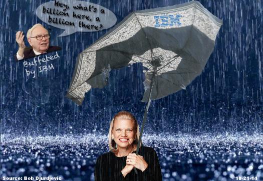 Ginni Buffet IBM Umbrella