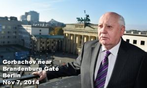 Gorbachev - 25th anniversary Fall of the Berlin Wall