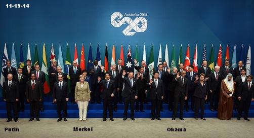 G20 in Australia 11-15-14