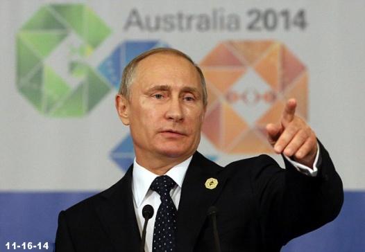 Putin in Australia 11-16-14