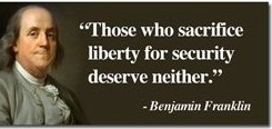 Image result for those who would trade freedom for security deserve neither