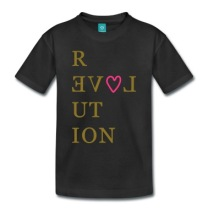 Heart-Love-revolution-typography-by-patjila-Shirts