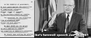 Ike farewell speech 1-18-61