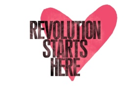love revolution starts here