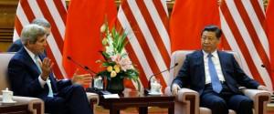 John Kerry, Xi Jinping