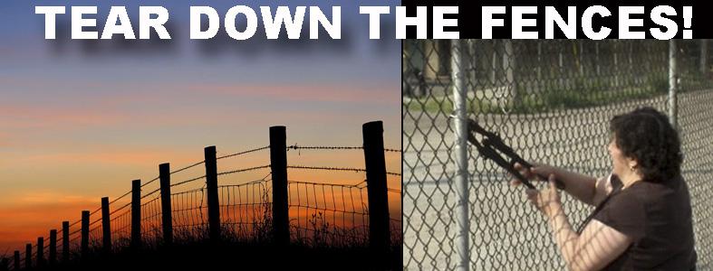 tear down fence