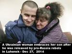 Ukraine prisoner release