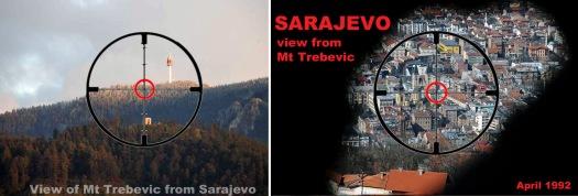 Trebevic-Sarajevo sniper