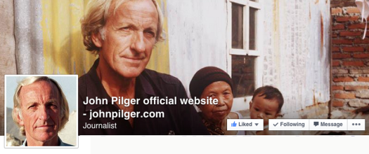 John Pilger FB page