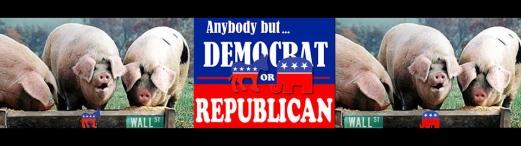 Anybody but Democrat Republican pig trough-hdr