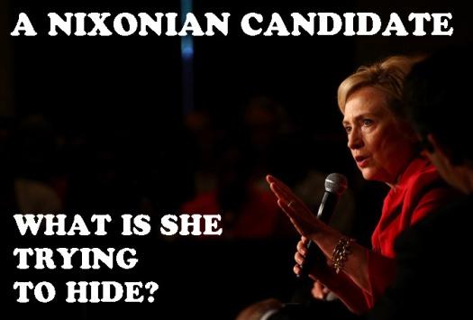 Hillary Nixonian