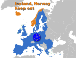 Iceland-Norway not in EU