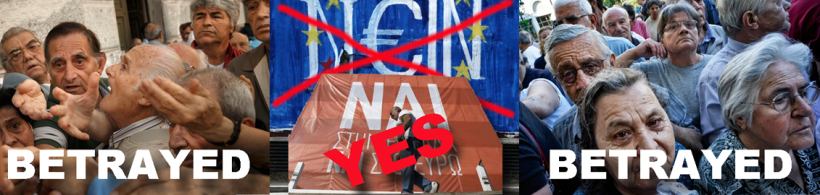 Pensioners in Greece Betrayed
