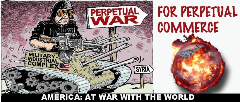 America at war with world