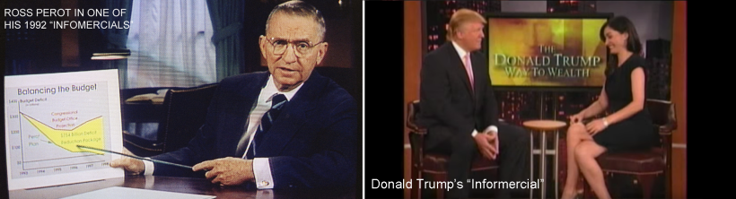 Perot Trump infomercials