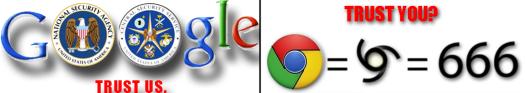 Google 666 Chrome