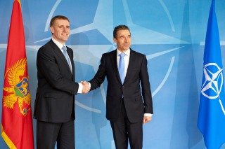 Visit to NATO by the Prime Minister of Montenegro