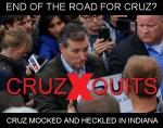 Cruz quits