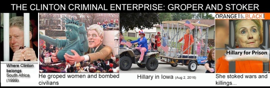 Clinton criminal enterprise