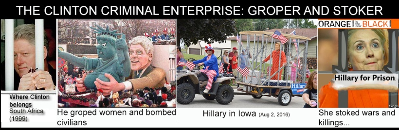 Clinton criminal enterprise
