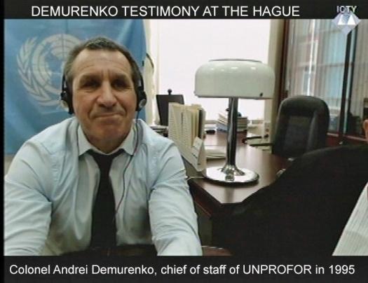 Demurenko at Hague