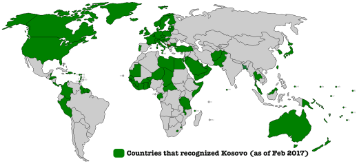 CountriesRecognizingKosovo