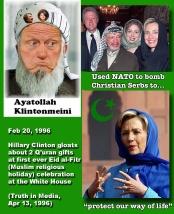 Hillary Bill Islamic