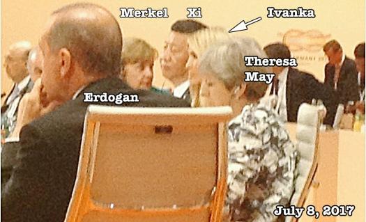 Ivanka at G20 7-08-17