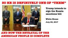 Trump signing