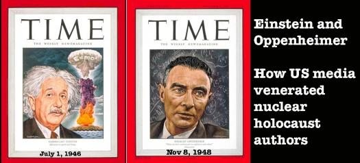Einstein Oppenheimer TIME